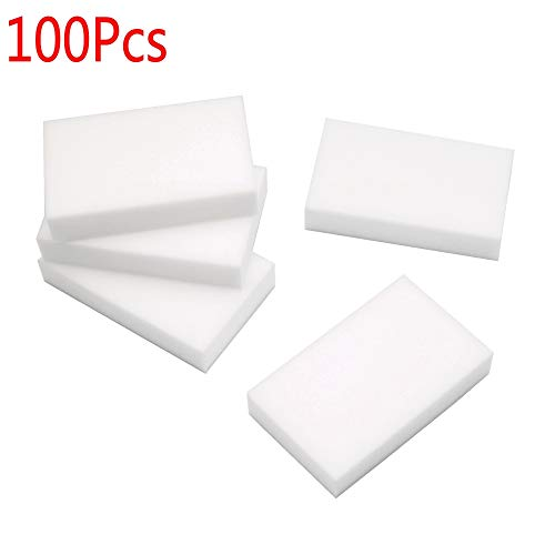 Confident New 50pcs Multi-functional White Sponge Eraser Melamine Cleaner Magic Cleaning Nano Sponge Dish 10 X6x 2cm In Short Supply Sponges & Scouring Pads Household Cleaning Tools