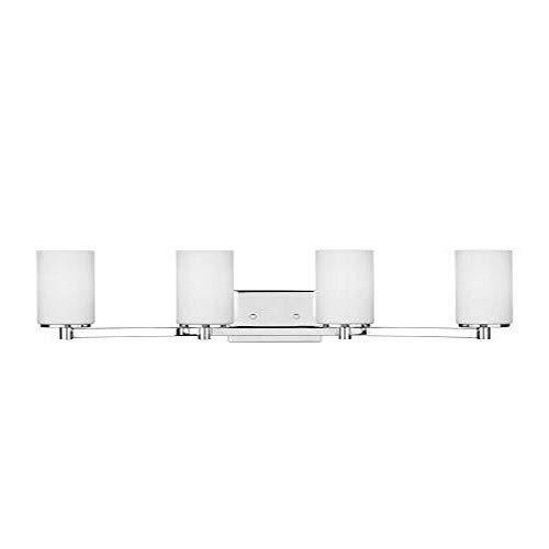 (Sea Gull Lighting 4439104-05 Hettinger Wall Bath Fixture Four-Light Chrome)