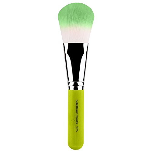 Bdellium Tools Professional Eco-Friendly Makeup Brush Green Bambu Series with Vegan Synthetic Bristles - Mixed Powder 975