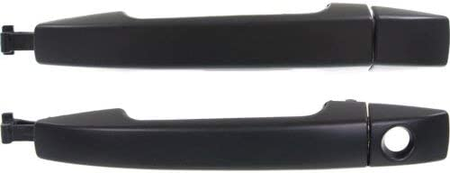 fits Subaru Front Right Primed Black Keyhole Outside Outer Exterior Door Handle