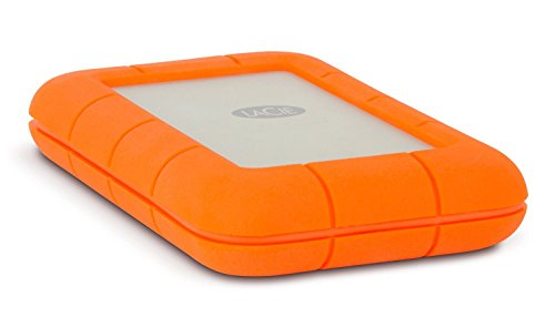 LaCie Rugged Thunderbolt 500 GB SSD, externe tragbare Festplatte - for MAC - LAC9000491