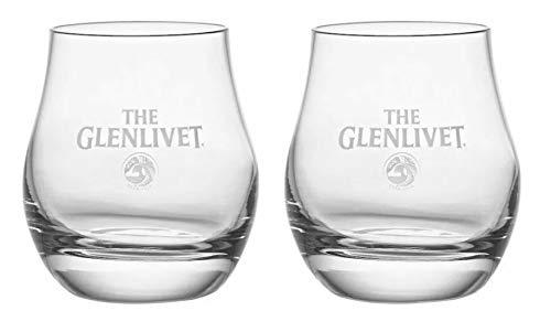 - The Glenlivet Scotch Whiskey Snifter Glasses (Set of 2)