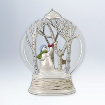 - Hallmark Keepsake Ornament Woodland Wonderland Snowman 2012