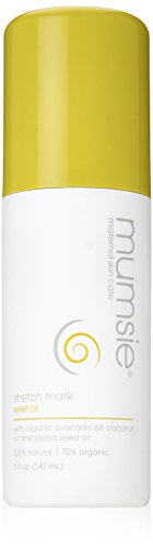 Mumsie Maternal Skin Care Stretch Mark Relief Oil, 5 Fluid Ounce