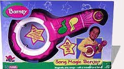 Playskool Barney Song Magic Banjo