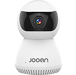 JOOAN 1080P HD Home Security Camera 2MP Network Camera Surveillance IP Camera Wireless WiFi Dome Camera for Baby/Pet/Elder Monitor with PTZ Motion Detection Alerts Night Vision and Two-Way Audio