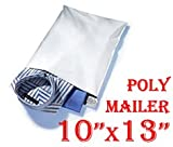1000 (One Thousand S4 (Dimension 10'' X 13'') Poly Mailers) Tear-proof, Water-resistant and Postage-saving Lightweight Self-seal Poly Mailers/ Shipping Bags.