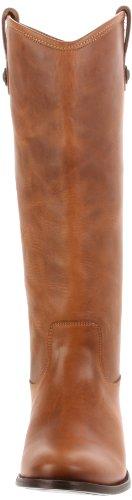 Boot Leather Light Melissa Women's Frye Off Brown Brush Button 4nAwtI8
