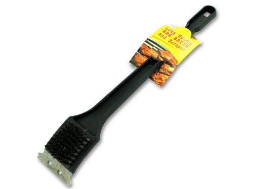 [Long Handled Barbeque Brush and Scraper.] (Long Handle Plastic Grill Brush)