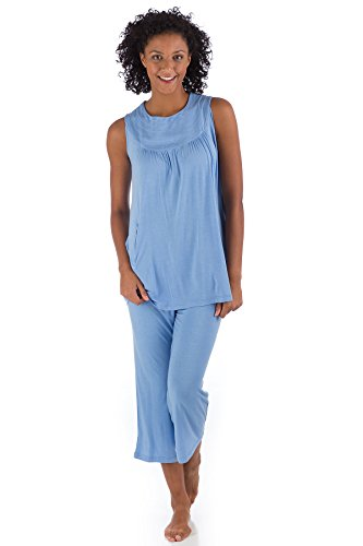 Periwinkle BambooDreams Clara Circle Tunic Pajama Set