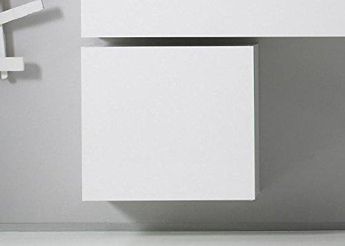 L& C LC 409044-81 Cube - Elemento 1 Anta, Legno, Taglia Unica Bianco