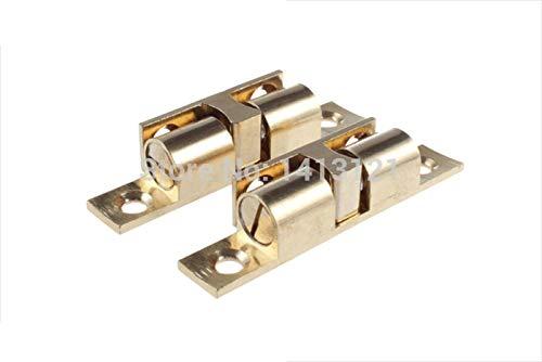 150 pieces 42mm brass cabinet Catch metal furniture Hardware part door catch door closer kitchen DIY household ball detent by Kasuki (Image #4)