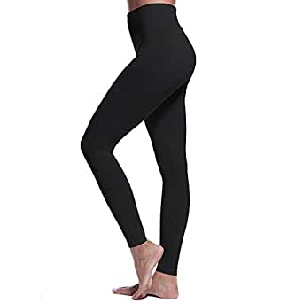 Aoxjox Womens High Waisted Impact Gym Workout Seamless Leggings Yoga Pants