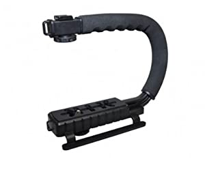 Action Handle Grip Stabilizing Stabilizer For Canon, Nikon, Sony, Samsung, Fujifilm, Fuji, Olympus, Panasonic, Pentax DSLR Digital SLR Camera Video Camcorder
