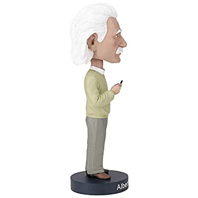 Royal Bobbles Albert Einstein V2 Bobblehead: Toys & Games