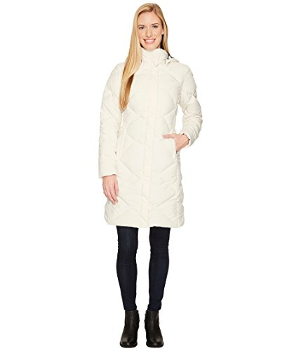 Nylon Vintage Coat - The North Face Jacket Women's Miss Metro Down Parka Winter Fashion Coat Vintage White (Large)