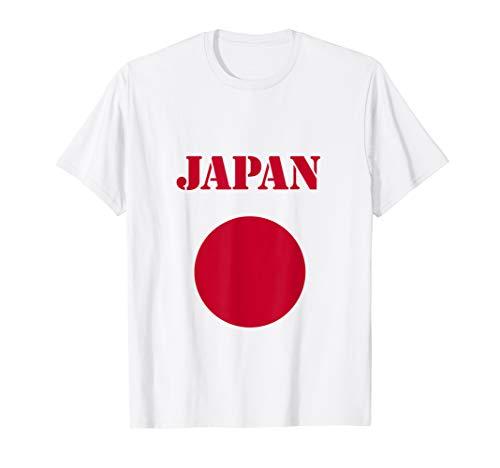Japan Flag T-Shirt Japanese Flag Tee Shirt