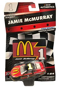 NASCAR Authentics Jamie McMurray #1 Diecast Car 1/64 Scale - 2018 Wave 7 with Free Magnet - Collectible