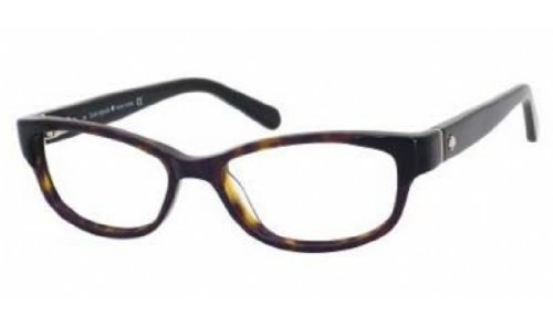 Kate Spade Alease Eyeglasses-0X79 Black - Glasses Zero X