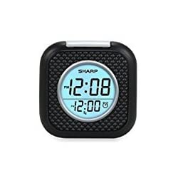 Sharp Vibrating Pillow Alarm Clock - Black
