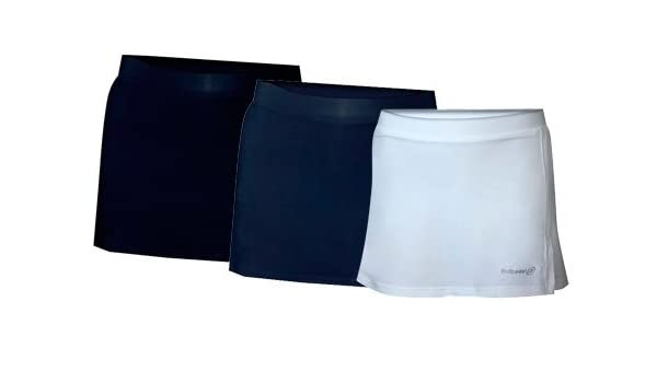 Bull padel - Falda sanon, talla S, color blanco: Amazon.es ...