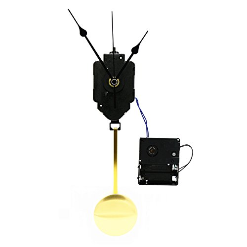 Original Youngtown 12888 Chime Melody Pendulum Clock Movement (Westminster Chime Wall Clock With Pendulum Movement)