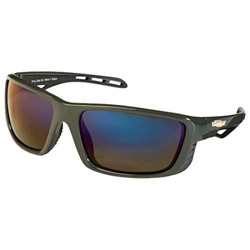 Chevrolet Polarized Sunglasses El Series Sports Style Model CPHRC by Solar Bat ()