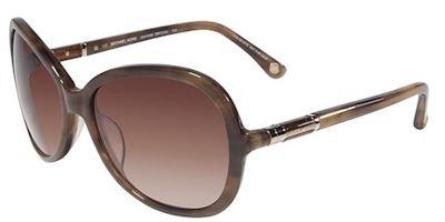 Blonde Horn - Michael Kors Jeannette Sunglasses MKS240 724 Blonde Horn 57 16 130