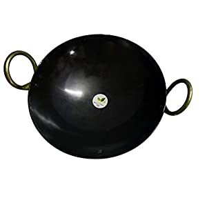 Be with Nature Iron Kadai 10 Inch or 25.4CM. Perfect for 3-4 Family Members. Product Weight 1.4 kg. Capacity : 2.25…