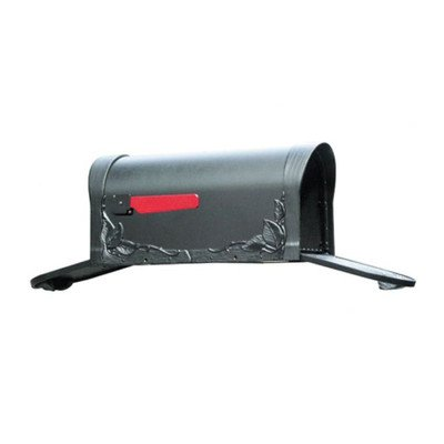 Floral Curbside Mailbox (Floral Curbside Mailbox with Two Doors)