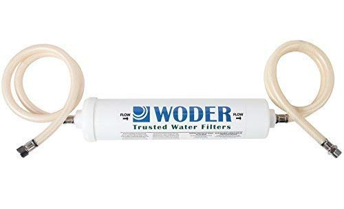 Woder 10K-DC Ultra High Capacity Under Sink Direct Connect Water Filtration System - Under Sink, Premium Class 1. Removes 99.99% of Contaminants for Safe, Fresh and Crisp Water, USA-Made