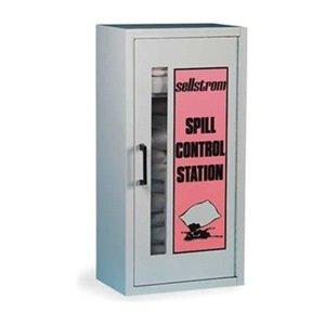 Spill Kit Wall Mounted Cabinet Hazmat Industrial Spill
