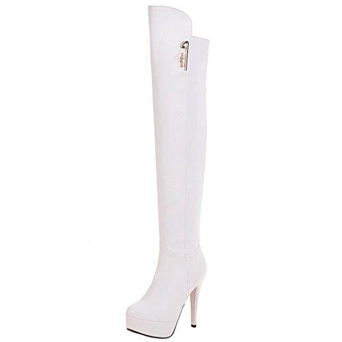 Da Classic Boot Aiyoumei Donna Bianco qERwR0d