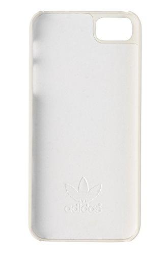 Adidas Basics Premium geformtem Schutzhülle für iPhone 5/5S, Weiß