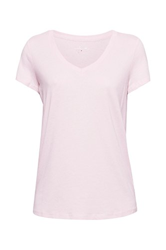 Maniche Rosa Esprit 692 Maglia Lunghe 3 A Donna light Pink ExxACq6