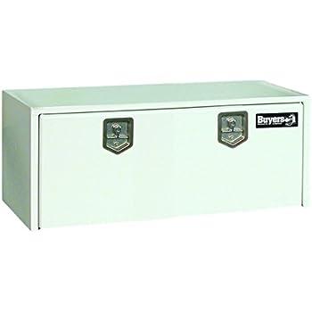 Amazon.com: Buyers Products Black Steel Underbody Truck Box w/ Paddle Latch (18x18x48 Inch