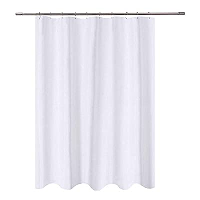 Emvency Shower Curtain Vehicle of Industrial Transportation Machine Construction Waterproof Polyester Fabric Set with Hooks