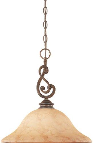 Designers Fountain 81832-FSN Mendocino Down Pendant