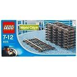 Lego 9V Straight Track 4515