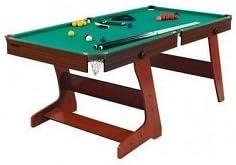 Hy-Pro 182,88 cm Plegable Mesa de Billar y Mesa de Billar: Amazon.es: Deportes y aire libre