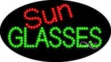 Sun Glasses - Animated - Ultra Bright LED Sign - 15'' x - Animated Sunglasses