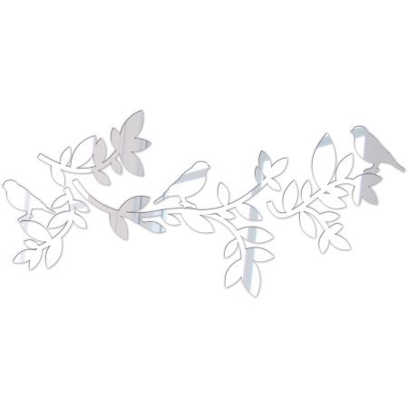 Branches With Birds Mirror Decal