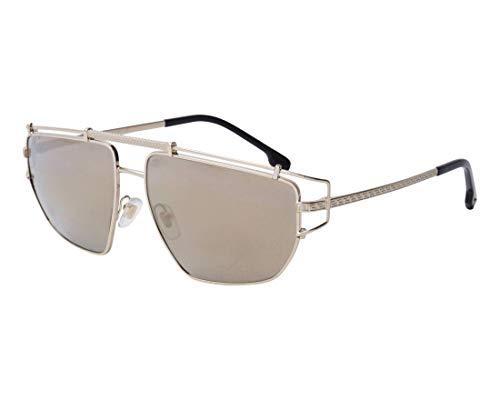 Versace Man Sunglasses, Gold Lenses Metal Frame, 57mm (Versace Sonnenbrillen Shop)
