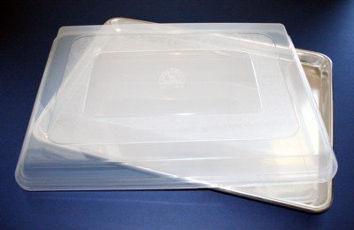 18 X 13 Jelly Roll Half Size Cookie Sheet Pan and Cover