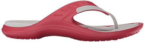 Crocs Unisex Modi Sport Flip Flop Pfeffer / Perlweiß