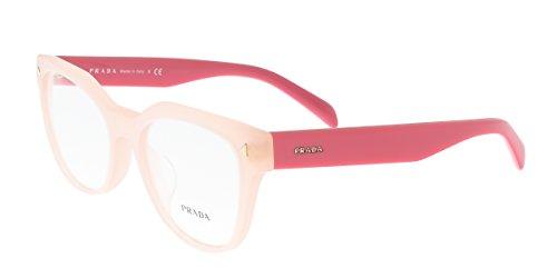 Prada PR21SVF UEW1O1 Eyeglasses Opal - Prada Pink Glasses