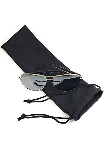 Silk Toy Bag - Ultra Soft Microfiber Drawstring Bag by Phi1.618,Black 4