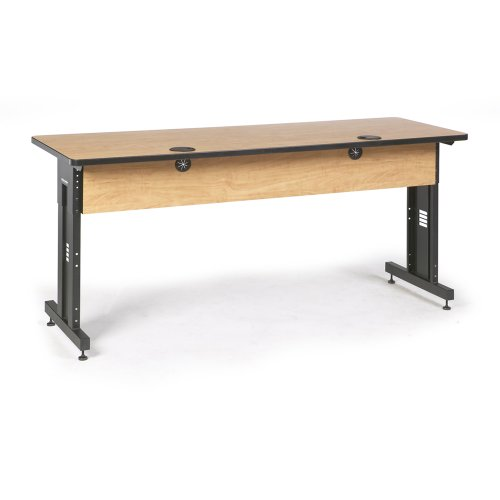 72'' W x 24'' D Training Table - Caramel Apple by Connect-Tek