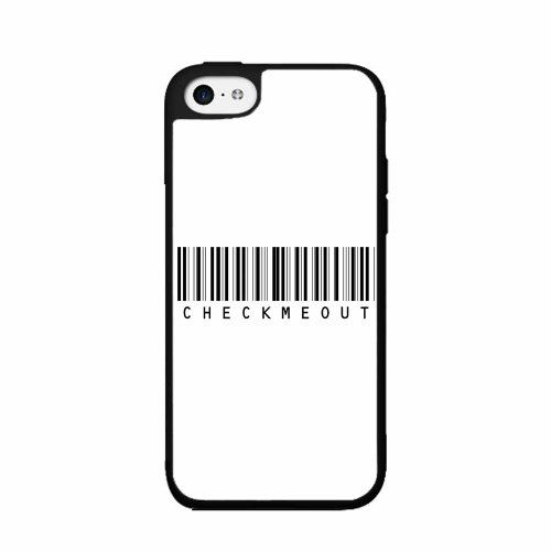 Bar Code Check Me Out TPU RUBBER SILICONE Phone Case Back Cover iPhone 5c