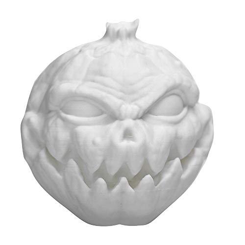 Sayolala LED Halloween 3 Colors Pat Lamp 4D Pumpkin Face Shape Lamp for Halloween Home Decoration Halloween -